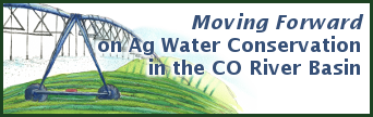 Moving Forward on Agricultural Water Conservation in the Colorado River Basin